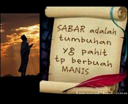 sabar pahit manis